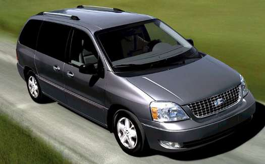 nueva ford minivan color gris