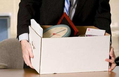 juntando las cosas antes de una renuncia