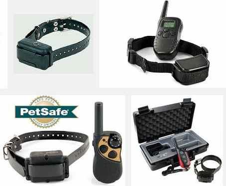 collares electricos para perros - distintos modelos