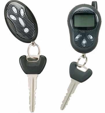 llave interruptora alarma coche