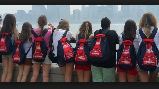 estudiantes de paseo
