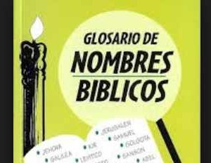 diccionario nombres biblicos populares