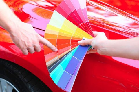 cambiar el color del coche