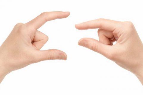 dedos de la mano